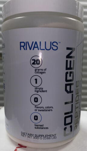 Seal Rivalus Collagen Peptides Unflavored 15 servings- Gluten sugar filler free
