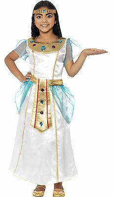 Girls Childrens Cleopatra Egyptian Bollywood Greek Costume Indian Fancy Dress