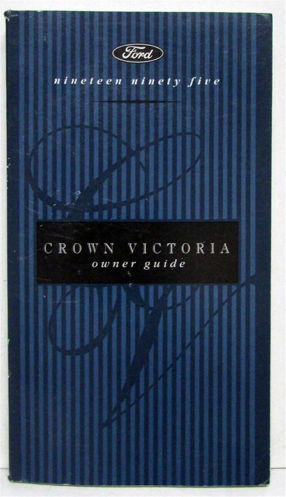 1995 Ford Crown Victoria Owners Operators Manual Original