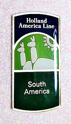 Holland America Line  South America  Souvenir Lapel Pin New In Package Nip Mint