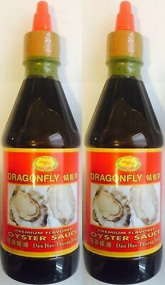 Dragonfly Premium Oyster Sauce 19 Oz (Pack of 2)