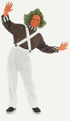 r Oompa Loompa childrens fancy dress costume outfit Childs (Oompa Loompa Outfits)