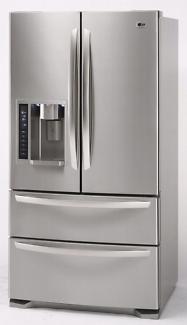 Lg french door fridge