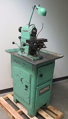 Hardinge Horizontal Mill Milling Machine Table 12 X 3.5 Made In Usa