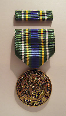 U.S. Korea Defense Service Military Medal with RIBBON