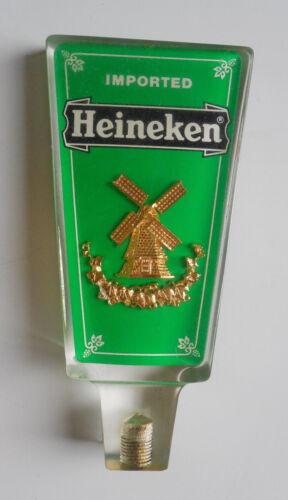 Vintage Imported Heineken Acrylic short Beer Tap Handle