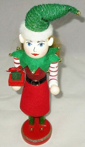 """CHRISTMAS NUTCRACKER 15"""" SANTA"""