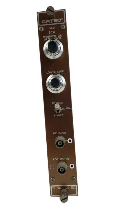 ORTEC 550 Single Channel Analyzer - Gamma Spectroscopy Geiger Scintillator Fusor