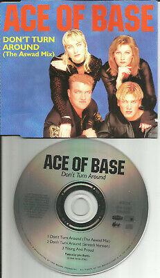 ACE OF BASE Don't Turn Around ASWAD MIX & STRETCH MIX CD single USA seller