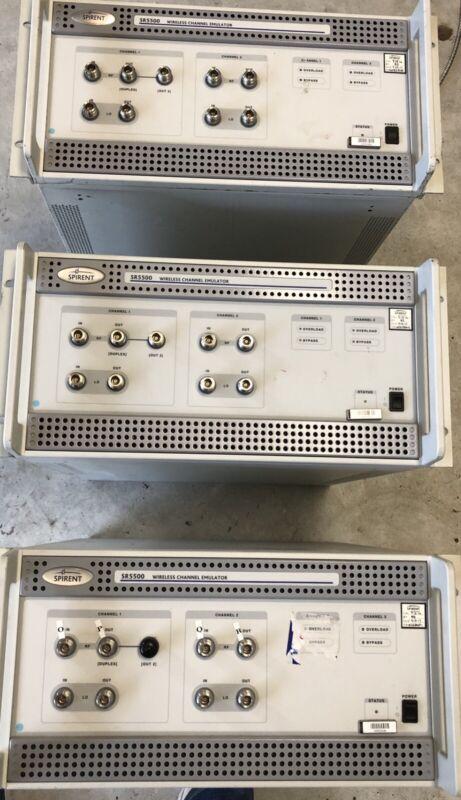 SPIRENT SR5500 WIRELESS CHANNEL EMULATOR (3)
