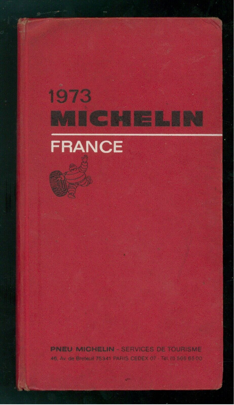GUIDA MICHELIN FRANCE FRANCIA 1973 VIAGGI GUIDE STRADALI AUTOMOBILI MOTORI