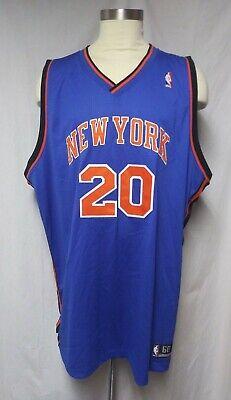 New York Knicks Jersey ALLAN HOUSTON #20 SEWN NBA Reebok Authentic SIZE 60