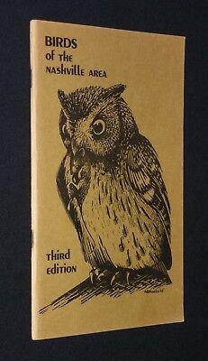 Birds Of The Nashville Area - Third Edition 1975 -- Birdwatching, Bird Watching