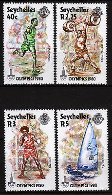Seychellen 461-64 **, Olympiade Sommer 1980