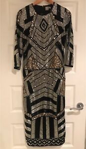 Woman's Embellished Midi Dress St Johns Park Fairfield Area Preview