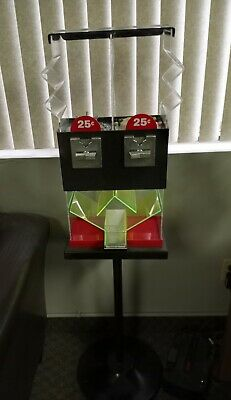 Double Head Candy Gumball Vending Machine