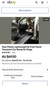 SOLD PENDING PICK UP - Dog Ramp