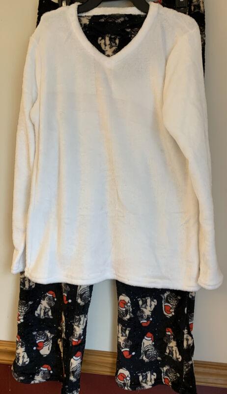 Pug 2 Piece Lounge/Pajama Set