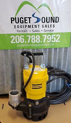 "2"" Submersible Trash Pump, 115V, 60GPM, HS2.4S, Pond Pump"