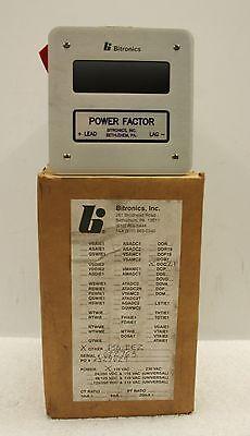 Bitronics Pswie2 Digital Power Factor Meter New In Box