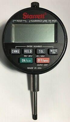 Starrett F2730-0 Electronic Indicator 0-10-25mm Range .000050.001mm