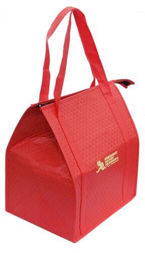 Insulated Delivery Bag Uber Eats Doordash Postmates Grubhub Non-woven 13x10x15
