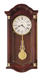 620-220 HOWARD MILLER DUAL CHIME WALL CLOCK LAMBOURN   620220