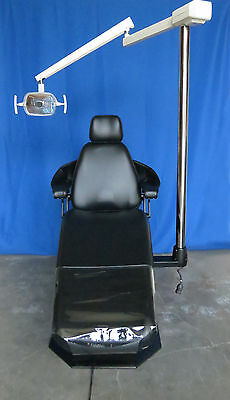 Adec Priority 1005 Dental Operatory Chair Wnew Black Upholstery 6300 Light