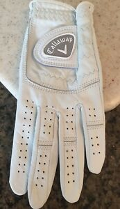 Callaway Left Hand Golf Glove for Right Hand Golfer Ladies L