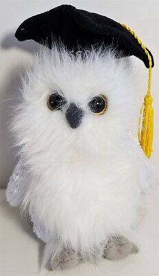 "TY Beanie Babies ""CLASS OF 2004"" the Graduation OWL Bird - MWMTs! RETIRED! GIFT!"