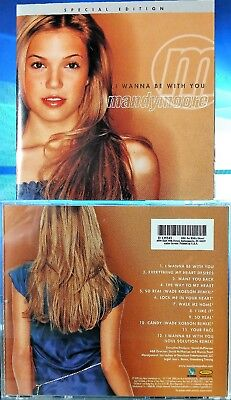 Mandy Moore   I Wanna Be With You Special Edition  Cd 2000  550 Music  Bmg  Usa