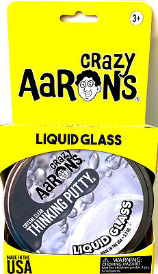 Liquid Glass Crazy Thinking Putty 3.2oz, Aaron's