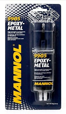 9905 Epoxy Metal Glue 30g Mannol Multipurpose Strong Auto Parts Heat Resistant