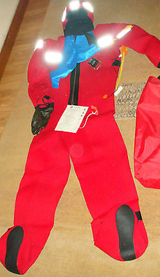 Crewsaver neoprene abandonment immersion suit - Large