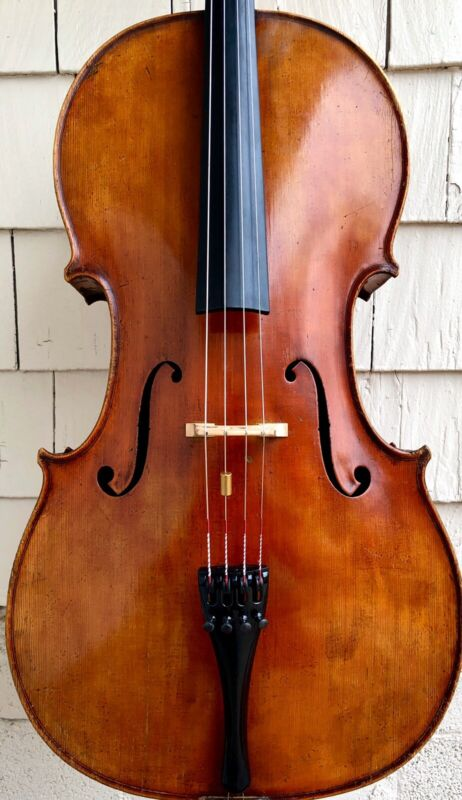 Fine old German cello (ca. 1900)