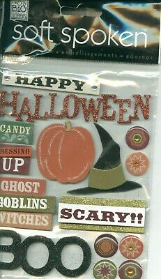 HAPPY HALLOWEEN Boo Candy Dressing up Ghost Goblins Witches Scary MAMBI Stickers