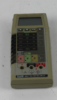 Fluke 8060a Ture Rms Multimeter No Probes