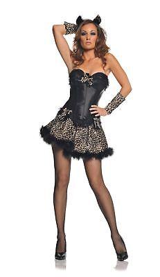 Sexy Leopard Kitty Dress Womens Costume - Leopard Dress Costume