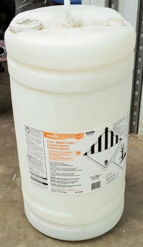 Clax Mile Forte 33B2 Low Temp Commercial Liquid Laundry Detergent 15 Gallon Drum