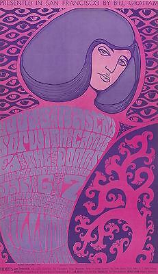 MINT Doors Young Rascals 1967 BG 44 Fillmore Poster 1st Doors SF SHOWS!!!