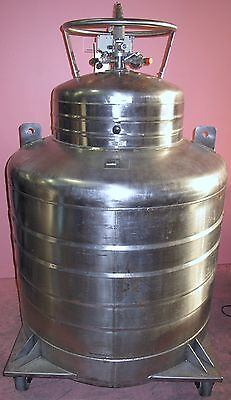 Cryofab Cmsh-500 Lhe Container Praxair Liquid Helium Container 538 L