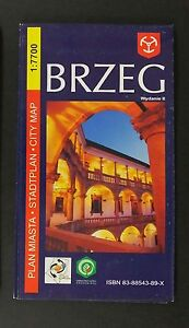 BRZEG city plan, plan miasta near mint - <span itemprop=availableAtOrFrom>europe, Polska</span> - Zwroty są przyjmowane - europe, Polska