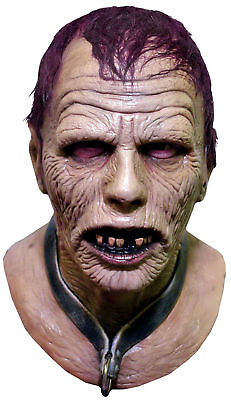 Day of the Dead Bub Latex Adult Mask Zombie Bloody Horror Halloween (Day Of The Dead Zombie Halloween Mask)