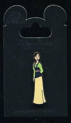 Princess Mulan Glitter Top Dress Disney Pin 93365