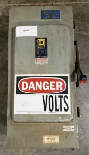 Square D HU364AWK Safety Switch 200A  #10009