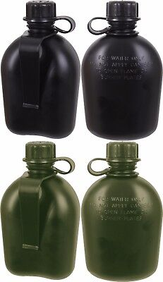 Gi Official Us Army Military Mil Spec 3 Piece 1 Quart Canteen With Belt Clip