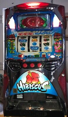 PACHISLO HIBISCUS SLOT MACHINE / 200 TOKENS / 412 PG MANUAL for sale  North Olmsted