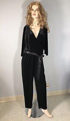 Sequin Cat Suit (Sexy Bob Mackie Sequin Coat Susan Graver Pant Suit Pantsuit Outfit Set Large)