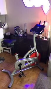 Spin Bike, Indoor Fitness Like New, Sunny SF-B1203