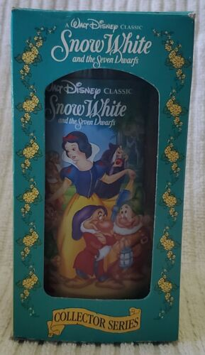 Snow White and the 7 Dwarf Disney Burger King Collector Series Glass 1994 F.R.S!